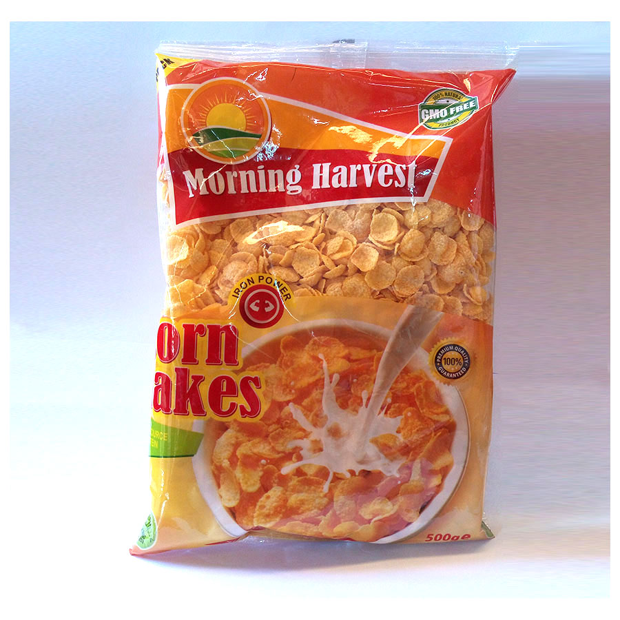 M/Harvest Cornflakes 500G Bag (Vpack)