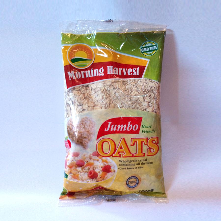 M/Harvest Jumbo Oats 500G (Bag)